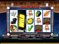 Andre the Giant automaat77.com Microgaming 1/5