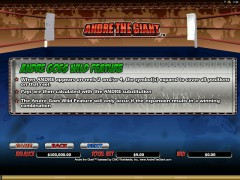 Andre the Giant automaat77.com Microgaming 5/5