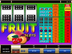 Fruit Slots - Microgaming