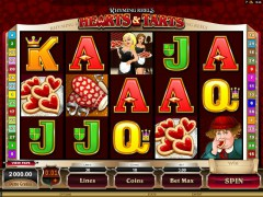 Rhyming Reels - Hearts & Tarts - Microgaming