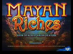 Mayan Riches - IGT Interactive