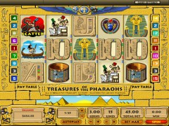 Treasures of the Pharaohs - Topgame