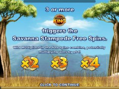 Savana King - Microgaming