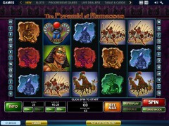 The Pyramid of Ramesses - Playtech