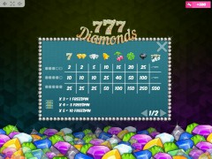 777 Diamonds automaat77.com MrSlotty 5/5
