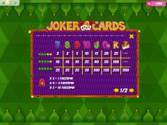 Joker Cards automaat77.com MrSlotty 5/5